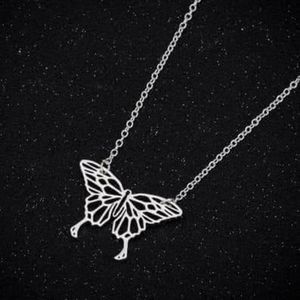 Butter fly necklace